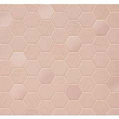 Rosy+Blush+heksagon+mosaikk