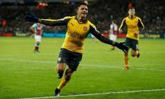 Alexis Sanchez hat-trick helps Arsenal thrash West Ham United