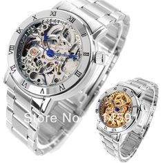 Barato Luxo marca mulheres vestido relógios moda Popular , auto vento    mecânica Skeleton Watch Ladies e9c1df035d