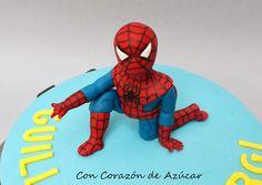 Paso a Paso modelado Spiderman   Con Corazón de Azúcar