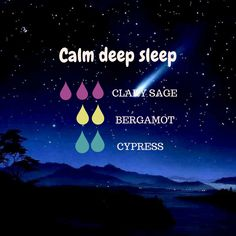 Tips for a calm deep sleep - New Ideas Essential Oils Guide, Essential Oils For Sleep, Essential Oil Uses, Doterra Essential Oils, Young Living, Esential Oils, Essential Oil Diffuser Blends, Calm, Diffuser Recipes
