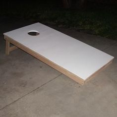 Build Your Own Cornhole Game Board with These Free Plans: Build a Cornhole Game Board