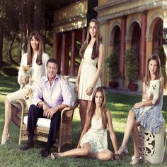 Stallone with family
