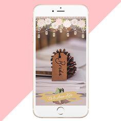Custom Wedding Snapchat Filter www.geotagfilters.com Wedding Dj, Hawaii Wedding, Wedding Tips, Wedding Decor, Wedding Stuff, Wedding Planning Inspiration, Filter Design, Snapchat Filters, Cards