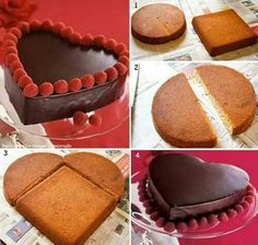 How cute for Valantines day! Anx its so  nice you dont need a new cake pan!