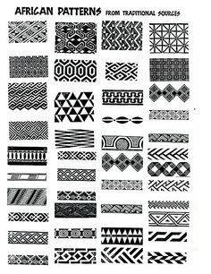 african patterns - ideas for zentangle by emmanuel.turner.37