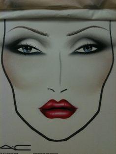 Debbie Harry Face Chart