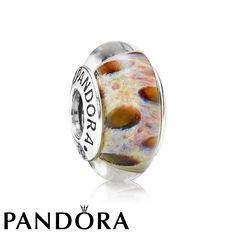 Pandora Sterling Silver Leopard Murano Glass Charm £30