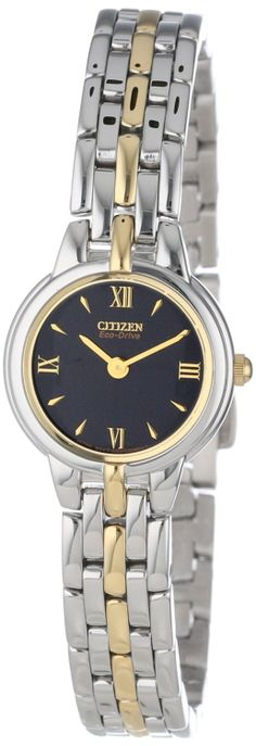 Citizen Women's EW9334-52E Eco-Drive Silhouette Two-Tone Watch