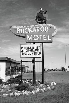 Route 66 - Buckaroo Motel, Tucumcari, New Mexico