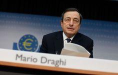"""Mário Draghi refere que economia europeia tem já indicadores de alguma """"estabilização"""". Presidente do BCE espera uma """"melhoria gradual"""" até ao fim do presente ano."""