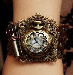 Rococo watch Bracelet I by ~Pinkabsinthe on deviantART