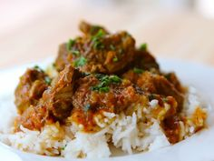 """Persian Lamb Stew   The Shiksa Blog (made it tonight ~ very good! Another new recipe for the """"make-again-list""""!"""
