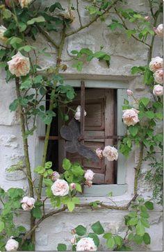 portas e janelas antigas romanticas - Pesquisa Google