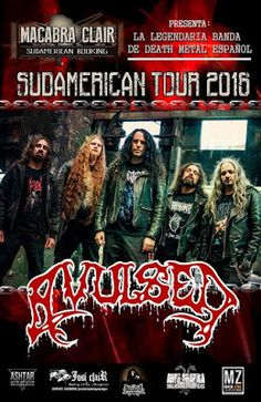 Long Live The Loud 666: AVULSED SUDAMERICAN TOUR 2016