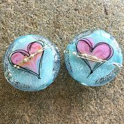 Fun Funky Unique Art Glass Creations by SunDoorBeads on Etsy