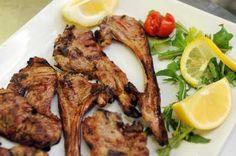 Braciole d'abbacchio scottadito Tandoori Chicken, Meat, Ethnic Recipes, Food, Meal, Eten, Meals