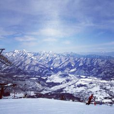 Happo-one ski resort is famous place which was used for winter Olympic game in Nagano!