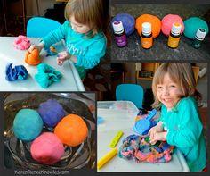 Simple DIY Essential Oil Infused Play Dough - Karen Renee Knowles