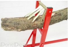 LOG HOLDER SAW HORSE-CHAINSAW FREE DEL