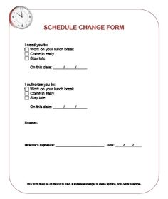 Termination Notice Printable For Child Care  Childcare Forms