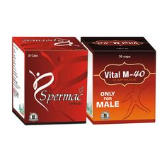 Enhance your #semen volume and increase #sperm count with the #ayurvedic and #herbal combo pack of #Spermac and #VitalM40.