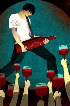 Wine rocks!  Beso de Vino