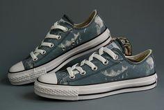 Blauwe Converse Sneakers Sp Ev Ox Canvas
