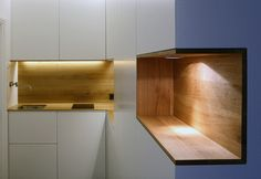 Nice kitchen cabinet detail!
