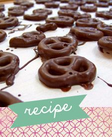 chocolate covered pretzels a fun easy party food