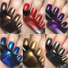 Zoya Flair Collection for Fall 2015 | Swatches & Review