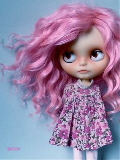 Ooak Custom Blythe Art Doll Savannah by Iriscustom by aline8