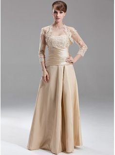 Mother of the Bride Dresses - $144.99 - A-Line/Princess Sweetheart Floor-Length Taffeta Bridesmaid Dress With Ruffle Lace Beading  http://www.dressfirst.com/A-Line-Princess-Sweetheart-Floor-Length-Taffeta-Bridesmaid-Dress-With-Ruffle-Lace-Beading-007002095-g2095