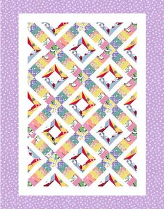 Free Easy Quilt Block Patterns | an original quilt pattern designed by christina carl for quilters
