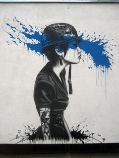 Street Art by Fin Dac in Warsaw, Poland