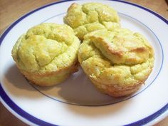 Almond flour zucchini muffins - minimal ingredients for the allergy sensitive.