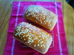 Homemade oatmeal bread!