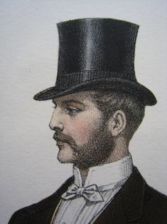 gentleman with top hat