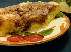 Two Minute Microwave Coffee Cake (Low Carb) - 3 net carbs per serving, using almond and coconut flour