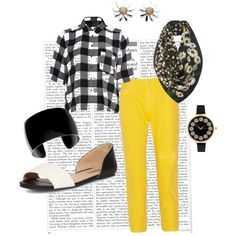 """Simple and Sunny"" by sheryl-slack-bessinger on Polyvore"