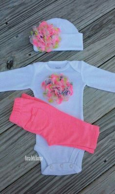 Cute Going Home Outfit, Take Home Outfit, Baby Girl Fashion, Kids Fashion, Outfits Niños, Baby Outfits, Baby Kids Clothes, Baby Time, Future Baby
