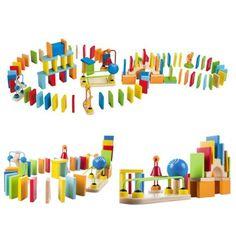 Dynamické domino Unique Toys, Handmade Toys, Big Kids, Fun, Crafts, Room, Ideas, Fin Fun, Bedroom