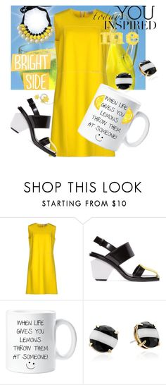 """""""Serving up Lemonade"""" by two-faced-honey on Polyvore featuring Blumarine, Marni and Kate Spade"""