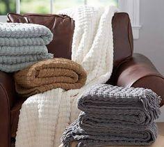 chenille yarn throw pillow - Google Search