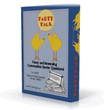 Funny Conversation Starter Questions and party printables