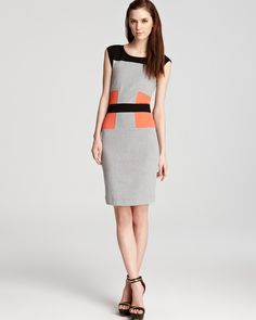french connection dress manhattan color block bloomingdales