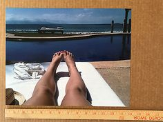 """SEXY PIN UP GIRL Legs Feet Foot & Toes FANTASY PICTURE 11"""" x 14"""" Color Photo HOT"""