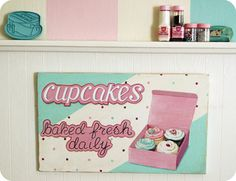 I want this sign!!!  Check out their site http://everydayisaholiday.bigcartel.com/product/jumbo-aqua-vintage-mixer-wood-diecut