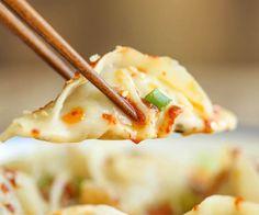 Spicy+Chicken+Potstickers