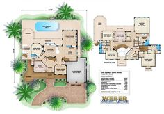 Osprey Cove Floor Plan- Olde Florida Floor Plans by Weber Design Group